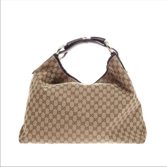 16e6f1f87ac2 Gucci Bags   Logo Hobo Bag   Poshmark